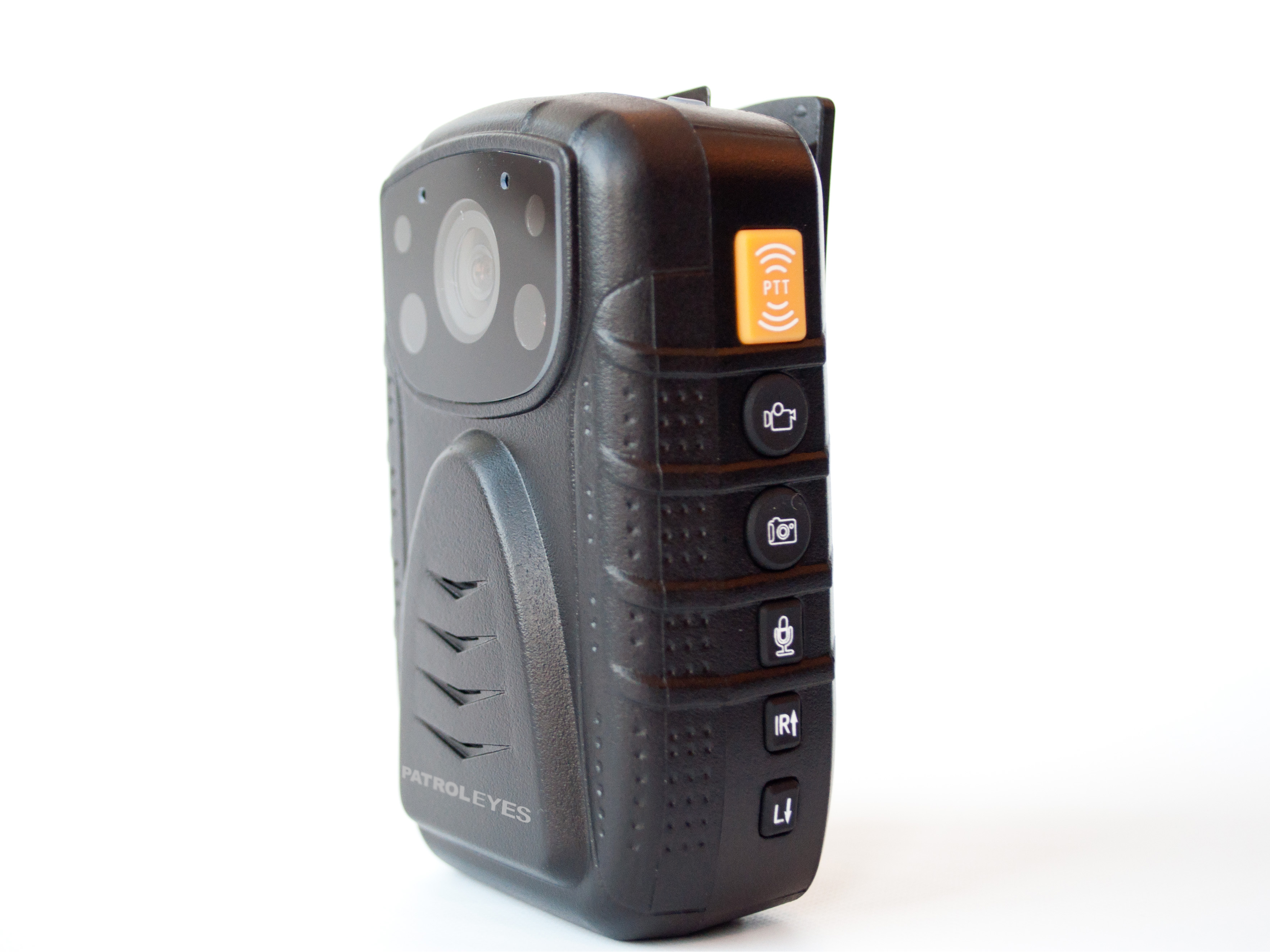 PatrolEyes 1296P IR GPS Wide Angle Police Body Camera DV1 2 XL